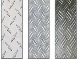 Лист алюминиевый рифленный