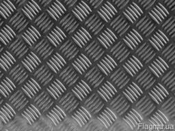Алюминиевый рифленый лист «Квинтет» 4,0х1000х2000мм 1050АН24