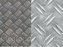 Лист алюминиевый рифленый 15 20 25 30 35 40 45 50 55 60...