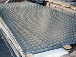 Лист алюминиевый рифленый 1х1500х3000мм АД0 (1050) Квинтет