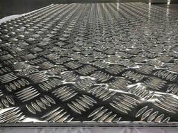 Лист алюминиевый рифленый 2, 0х1250х2500 мм