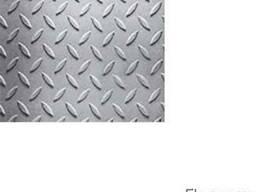 "Лист алюминиевый, рифленый ""Дуэт"", 3х1000х2000мм, купить,"