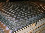 Лист алюминиевый рифленый 2,0х1500х3000 мм квинтет - фото 1