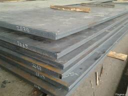 Лист г. к. сталь 45 толщиной 40-160мм из наличия.