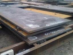 Лист горячекатаный конструкционный сталь 40Х, 45, 10ХСНД