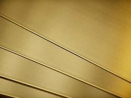 Лист латунный Л63 птв 0,6х600х1500 ГОСТ купить цена