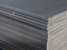 Титановый лист 6мм - 0,68х0,86мВТ1-0