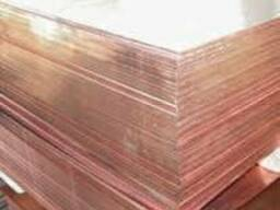 Медный лист 0,6 мм М1 купить цена