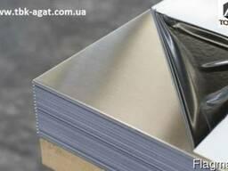 Лист н/ж 202 0, 8 (1, 25х2, 5) 4N PVC