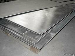 Лист нержавеющий 0,6*1250*2500 mm Сталь AISI 430 2R