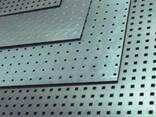 Лист нерж. перф. 0,5 (1,0х2,0) Wave1 - фото 1