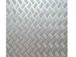 Лист нерж, 304 3,0 (1.0 2,0)рифл,