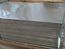 Лист алюминиевый 10х1500х3000мм АД0(1050), АМг3(5754), АМц