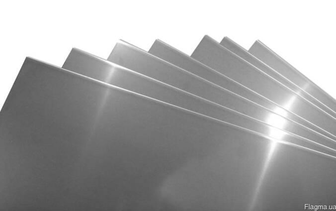 Лист нержавеющий 1,5 мм. AISI 304 240 grit РЕ купить. цена