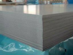 Лист нержавеющий 0,8 (1,0х2,0) AISI 304 (08Х18Н10) BA+PVC. ..