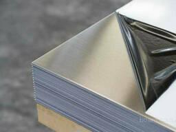 Лист нержавеющий AISI304 1, 0х1250мм (рулон) BA+PVC