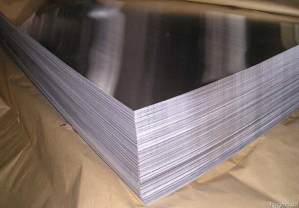 Лист алюминиевый 2х1250х2500мм АМГ3 5754