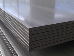 Лист нержавеющий Ф- 0,6 мм 1250x2500, 430 (Полированные. )
