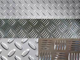 Лист рифленый стальной Ф-5 мм