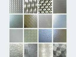 Лист н/ж декоративный AISI 304 1, 0 (1, 25х2, 5) кожа+PVC