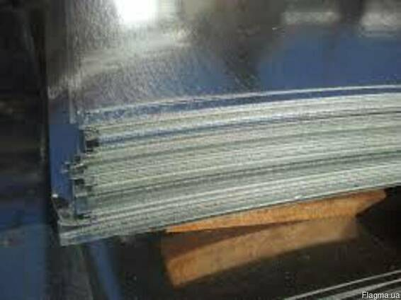 Лист оцинкованный 0,45-3,0х1250 мм. купить ГОСТ цена