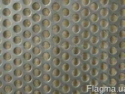 Лист перфорированный стальной 5,0мм (ф6,0мм) цена купить