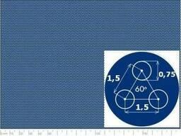 Лист перфорированный AISI 304 0,75-1,5/0,6/1000x2000