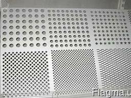 Лист перфорированный нержавеющий 0, 5х1000х2000 мм (ф 2, 5 мм)