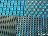Перфорированный лист нерж круг 0,75 шаг 1,5 0,6х1000x2000 - фото 1