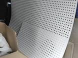 Нержавеющий перфорированный лист 1,5 мм отверствие 3 мм шаг 5 мм купить со склада - фото 1