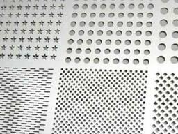 Лист перфорированный с круглыми отверстиями 2,3,4,5,6,8,10мм