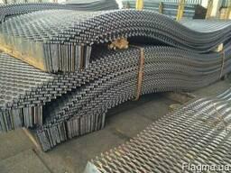 Лист ПВЛ 4 просечно-вытяжной, стальной, горячекатаный.