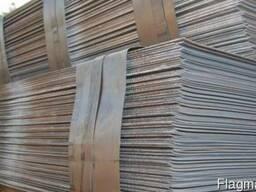Листы стальные 65Г 2, 0х1250х2500мм