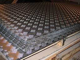 Лист рифленый алюминиевый 1, 5х1200х3000, квинтет, купить