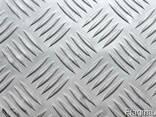 Алюминиевый лист рифленый 1,5x1250x2500 - фото 1