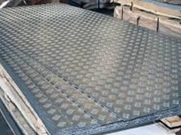 Алюмінієвий лист рифлений 1,5х1250х2500 мм 1050 Н24