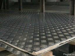 Нержавеющий лист рифленый AISI 316 кислотостойкая 10х17н13м2