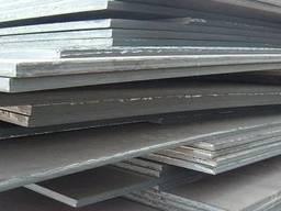 Лист стальной 09Г2С толщина 10 мм, 35 мм, 60 мм