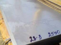 Лист стальной 1, 2 хк 1250х2500