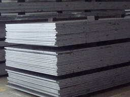 Лист стальной горячекатаный конструкционный Сталь 20, 45
