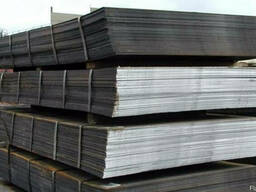 Лист рессорно-пружинный 6, 0х1500х6000 мм сталь 65Г
