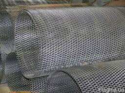 Лист стальной ПВЛ-203, просечно вытяжной лист, лист просечно