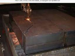 Лист стальной ( ст.09Г2С) d- 10 х 1500х6000 (порезка )