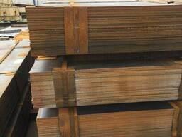 Лист конструкционный и легированный 16 2х6 м ст.40Х