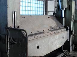 Листогиб с поворотной гибочной балкой ИВ2144, ИВ2143, ИВ2145