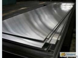 Лист нержавеющий 0.5х1000х2000 мм марка AISI 304 зеркало
