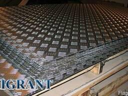 Листы рифленые нержавеющие АiSi 304 (4х1500х6000 мм) ценыы