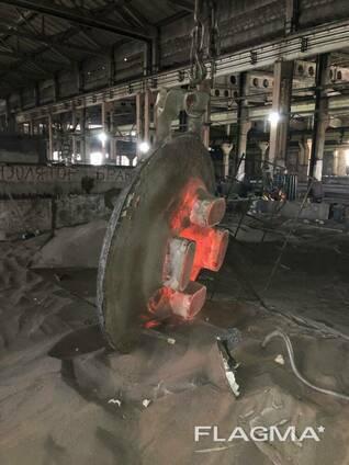 Литье крупных отливок массой до 2 т из стали и чугуна