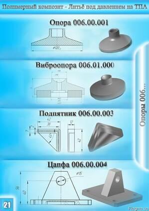 Литье пластмасс под давлением (ТПА).