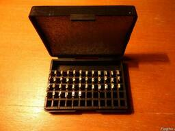Литеры для датера термодатера